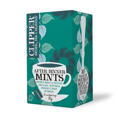 Organic After Dinner Mints, Double Mint Infusion 20 bags Clipper Tea, After Dinner Mints, Pure Green Tea, Mint Bag, Earl Grey Tea, Peppermint, Organic, Pure Products, Bags