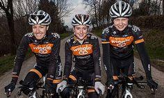 Dani King, Laura Trott and Joanna Rowsell riding for Wiggle-Honda Joanna Rowsell, Dani King, Cycling Girls, Team Gb, Cycle Chic, Guys And Girls, Olympics, Honda