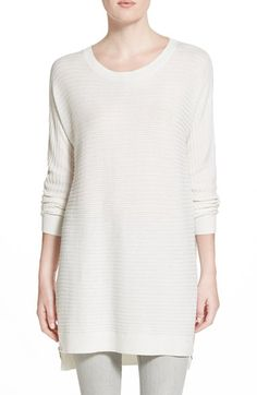 Trouvé Side Zip Tunic Sweater available at #Nordstrom