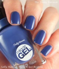 I doubt anyone will be surprised that Beatnik was the first polish I tried from the new, Boho Chic collection from Sally Hansen. It's no secret I have a thing for cobalt blue polishes and I m… Gorgeous Nails, Love Nails, How To Do Nails, Nail Polish Designs, Nail Polish Colors, Nail Designs, Sally Nails, Gel Nails, Shellac
