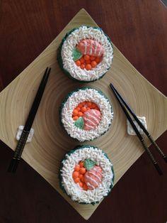 Sushi cake, great idea!