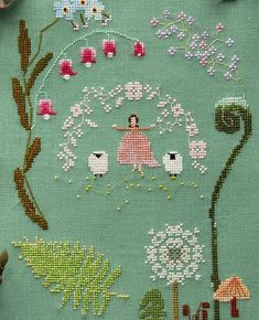 Thrilling Designing Your Own Cross Stitch Embroidery Patterns Ideas. Exhilarating Designing Your Own Cross Stitch Embroidery Patterns Ideas. Learn Embroidery, Hand Embroidery Stitches, Embroidery Techniques, Cross Stitch Embroidery, Machine Embroidery Designs, Embroidery Patterns, Flower Embroidery, Cross Stitch Sampler Patterns, Cross Stitch Samplers