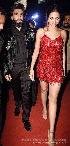 Deepika and Ranveer after party