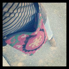 Que os parece mi nueva bolsa??? Es típico de Uzbekistán,  la ruta de la seda.