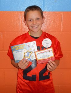 Our Kid of the Day is Gabriel! Gabriel enjoys playing in our youth football league.