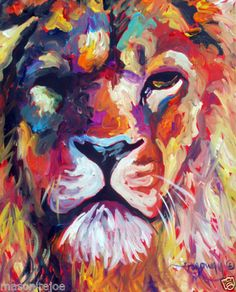 the beauty of the lion never fails