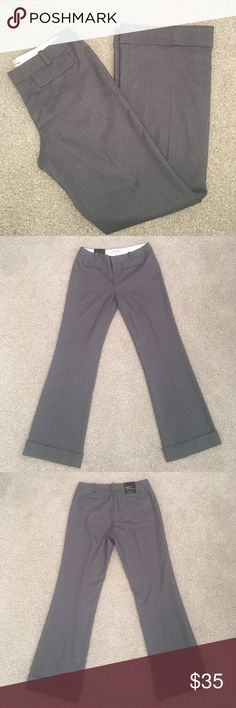 New Banana Republic Martin Wide Leg Pants Size 8 Brand-new with tags gray wide leg pants. Width of pant leg is 10 inches.  Inseam is 32 inches, length is 42 inches. Banana Republic Pants Wide Leg
