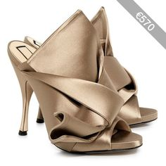 No.21 - Knotted Satin Mules