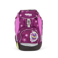 Mega fede Ergobag Packset Bearlissima skoletaske 1-4. klasse purple flowers   til Skoletasker i lækker kvalitet