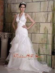 Customize Wedding Dress A Line Square Beading And Ruch Court Train Organza Fashionos Facebook Fashionosus The Wed
