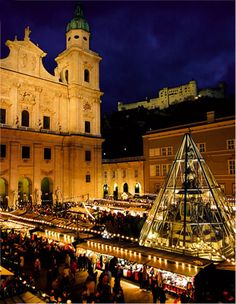 CHRISTKINDLMARKT - Salzburg Christmas Market Dates / Times - ENGLISH
