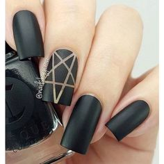 60 Pretty Matte Nail Designs ❤ liked on Polyvore featuring beauty products, nail care, nail treatments and nails