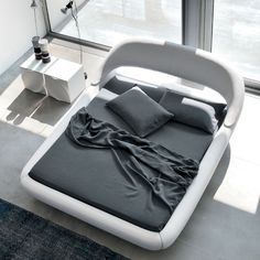 Reimagine your #bedrooms as a futuristic abode by installing this plush and exquisitely comfy Sleepy #Bed indoors.  #furniture