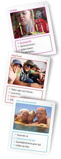 KwartetCadeau - Je eigen kwartetspel in vier stappen Wat een geweldig leuk idee voor als een cadeau!