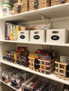 Pantry Storage Ideas Baskets Organization Kitchen