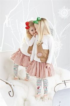 Mud Pie Little Girls Reindeer Christmas Skirt Set Christmas Skirt, Girls Christmas Dresses, Reindeer Christmas, Christmas Outfits, Christmas Holiday, Christmas Clothing, Baby & Toddler Clothing, Toddler Fashion, Children Clothes