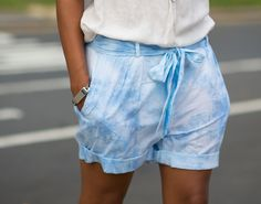 DIY the look of the Isabel Marant SS12 Eloa shorts