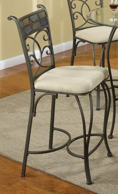Giselle Metal Counter Height Stool