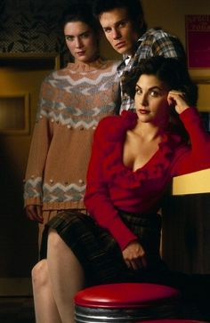 Sherilyn Fenn Lara Flynn Boyle James Marshall Twin Peaks