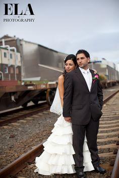 http://www.elaphotography.com.au  Wollongong Wedding Photography | Train Track Wedding Photos, Rustic Wedding Photographer | Grungy Wedding Photographs | Wedding Photo Locations in Wollongong.