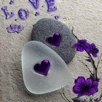 Mobile wallpaper📱 images 💖 i love you 💖 appa - sharechat Purple Love, All Things Purple, Purple Rain, Shades Of Purple, Purple Hearts, Purple Flowers, Pink, Heart Wallpaper, Love Wallpaper