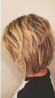 Like this cut. Layers!