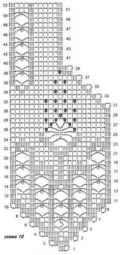 Easy vest diagrams to crochet/Diagramas de chalecos fáciles de hacer en ganchillo