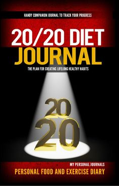 Starting the Dr. Phil 20/20 Diet Plan? Get the must-have companion - The 20/20 Diet Journal! Easily track your meals, hunger/fullness, exercise and more for 60 days! Research has found that people who track their meals daily consistently lose more weight than those who don't. Add this simple, easy to use journal to your arsenal for the ultimate success on the 20/20 diet plan!