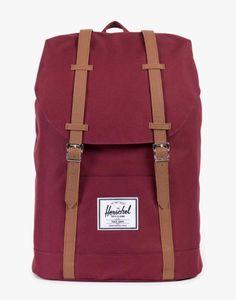 ea3889e4c82d Retreat Backpack - Windsor Wine Tan Red Bags