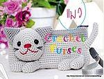 Ideas for crochet cat bag pencil cases Crochet Pencil Case, Crochet Case, Crochet Shell Stitch, Love Crochet, Crochet Flowers, Chat Crochet, Crochet For Kids, Crochet Toys, Crochet Handbags