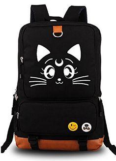 YOYOSHome® Anime Sailor Moon Cartoon Luna Canvas Backpack School Bag YOYOSHome http://www.amazon.com/dp/B00X15Z6BO/ref=cm_sw_r_pi_dp_aJu2vb11XQ9T8