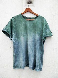 Dyed t shirt unisex por armarioenruinas en Etsy