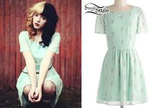 Melanie Martinez: Mint Green Milkshake Dress