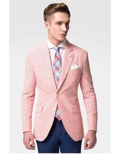 venta en línea el precio más baratas Calidad superior Outfit Blazer Rosa y Mamey