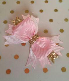 Arco arcos de oro rosa brillo chispa Itty Bitty Royal