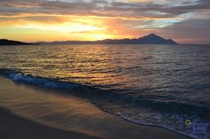 Sarti, alege o binemeritata vacanta in Sarti, Sithonia! Greece, Celestial, Sunset, Outdoor, Greece Country, Outdoors, Sunsets, Outdoor Games, The Great Outdoors