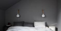 techos inclinados decoración pisos pequeños decoración en gris decoración áticos cocina diáfana blog decoración nórdica Acogedora buhardilla en grises