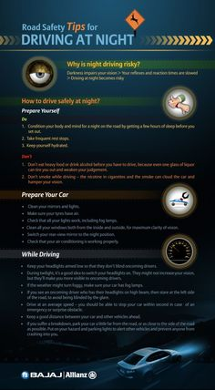 Road #safety tips for driving at night. #driving #night Here at Maxxima, we care about your safety on the roads at night. That is why we develop effective LED lights for your vehicles.