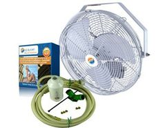 Misting Fans - Outdoor Misting Fan  18 Mist Cooling Fans CoolOff * Learn more by visiting the image link. (This is an Amazon affiliate link)