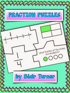 Fraction Puzzles - Product Swap and Giveaway!