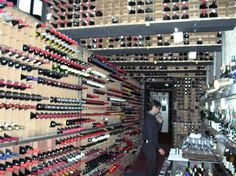 Tampa Bay's own Berns Steakhouse wine cellar contains more than 6,800 different selections with more than half a million bottles of wine!