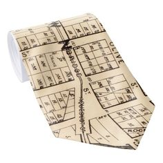 Vintage Map of Plymouth England 1765 Neck Tie Plymouth England