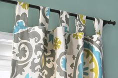 How to Make Tab Top Curtains | OFS Maker's Mill