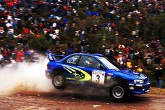 Subaru World Rally Car - now this looks like fun! Subaru Rally, Subaru Impreza Wrc, Wrx Sti, Rally Car, Skyline Gtr, Nissan Skyline, Richard Burns, Rallye Wrc, Wheel In The Sky