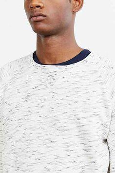 BDG Streaky Raglan Sweatshirt - Urban Outfitters