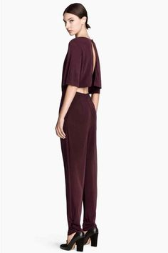 Macacão de mangas curtas   H&M