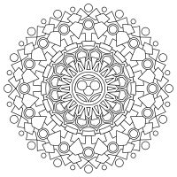Design print and color your own mandalas online download as pdfs