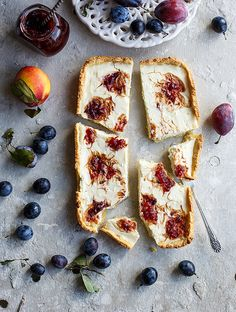 Plums marble pie   Flickr - Photo Sharing!