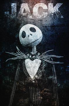 Jack Skellington... Character from Tim Burton's The by AllThatGeek, $20.00