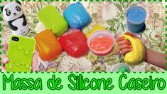 Massa de Silicone Caseiro Cold Porcelain, Polymer Clay, Youtube, Crafts, Homemade Products, Dyi, Biscuit, How To Make Silicone, Craft Projects